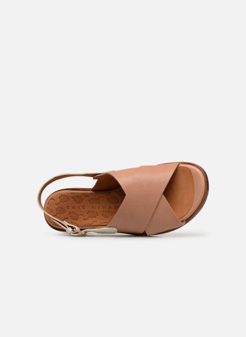 Sandales et nu-pieds Chie Mihara Wan Beige vue gauche