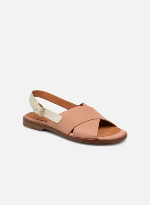 Sandales et nu-pieds Chie Mihara Wan Beige vue détail/paire