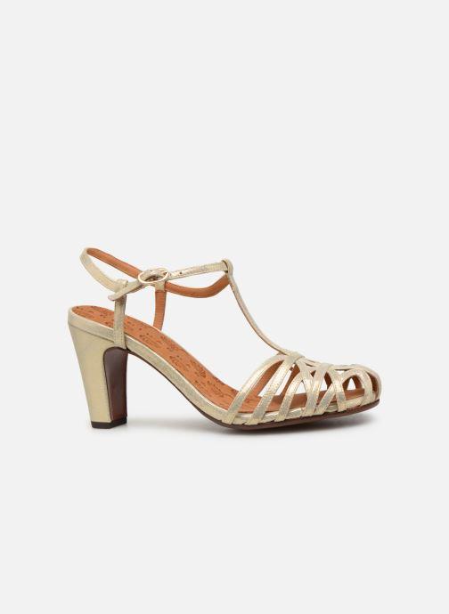 Zapatos de tacón Chie Mihara Ku-Quenu Oro y bronce vistra trasera