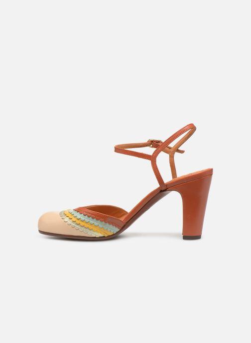 Sandales et nu-pieds Chie Mihara Kudi Marron vue face