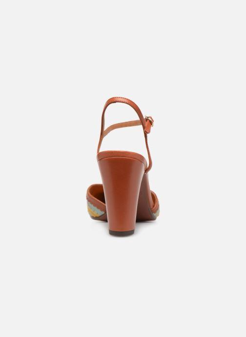 Sandales et nu-pieds Chie Mihara Kudi Marron vue droite