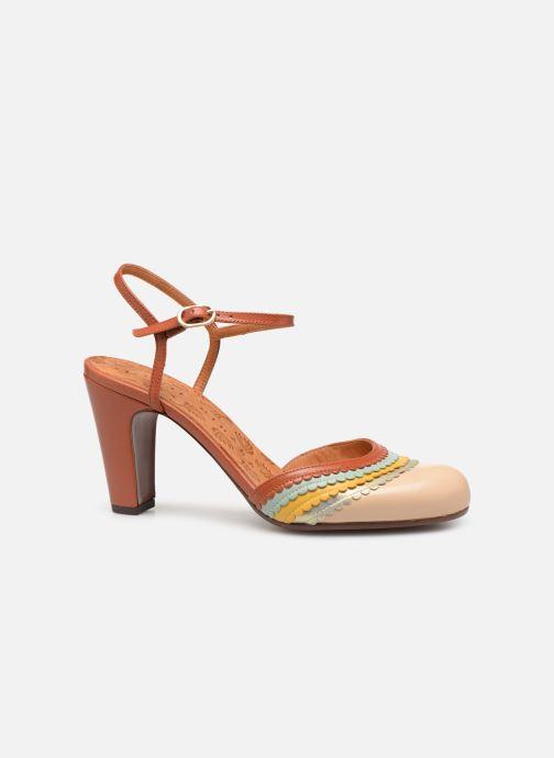 Sandales et nu-pieds Chie Mihara Kudi Marron vue derrière