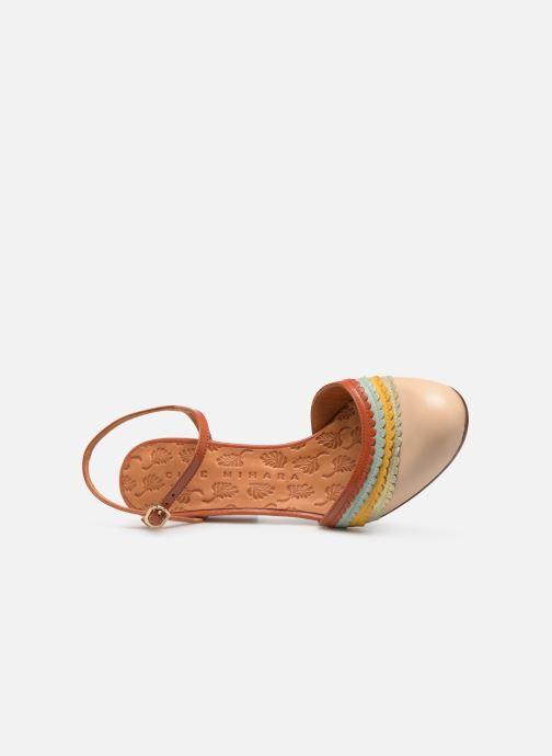 Sandales et nu-pieds Chie Mihara Kudi Marron vue gauche