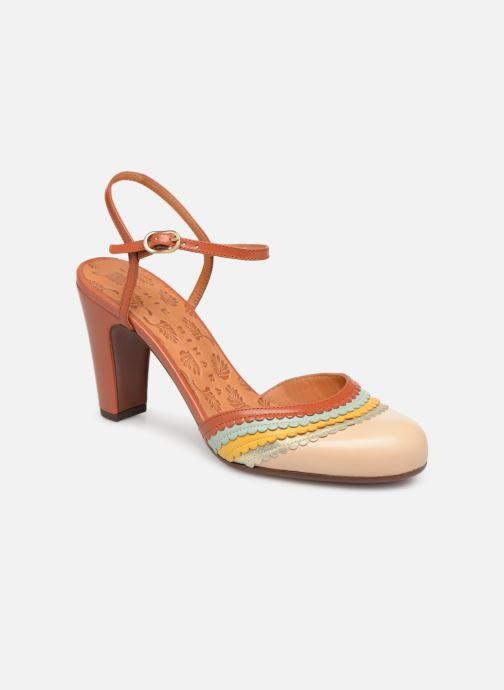Sandales et nu-pieds Chie Mihara Kudi Marron vue détail/paire