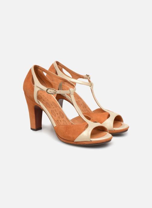 High heels Chie Mihara Acai Brown 3/4 view