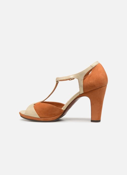 Zapatos de tacón Chie Mihara Acai Marrón vista de frente