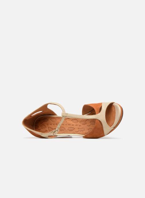 Zapatos de tacón Chie Mihara Acai Marrón vista lateral izquierda