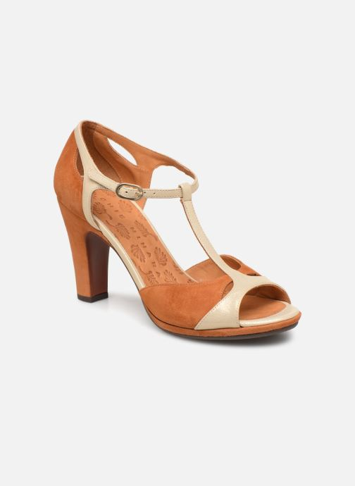 High heels Chie Mihara Acai Brown detailed view/ Pair view