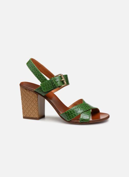 Sandales et nu-pieds Chie Mihara Hael Vert vue derrière