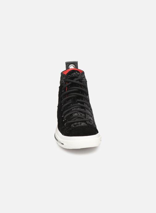 Baskets Diesel Exposure IV W Noir vue portées chaussures