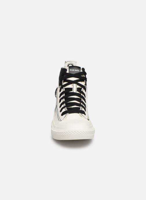 Baskets Diesel S-Astico Mid Lace W Blanc vue portées chaussures