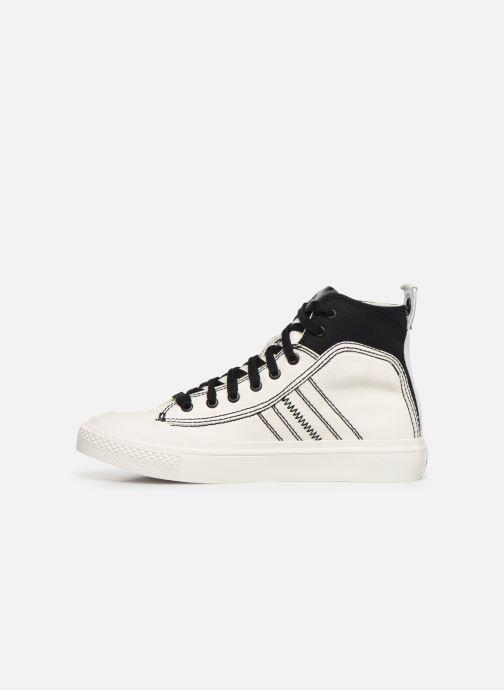 Baskets Diesel S-Astico Mid Lace W Blanc vue face