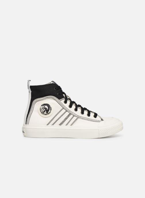 Sneakers Diesel S-Astico Mid Lace W Bianco immagine posteriore