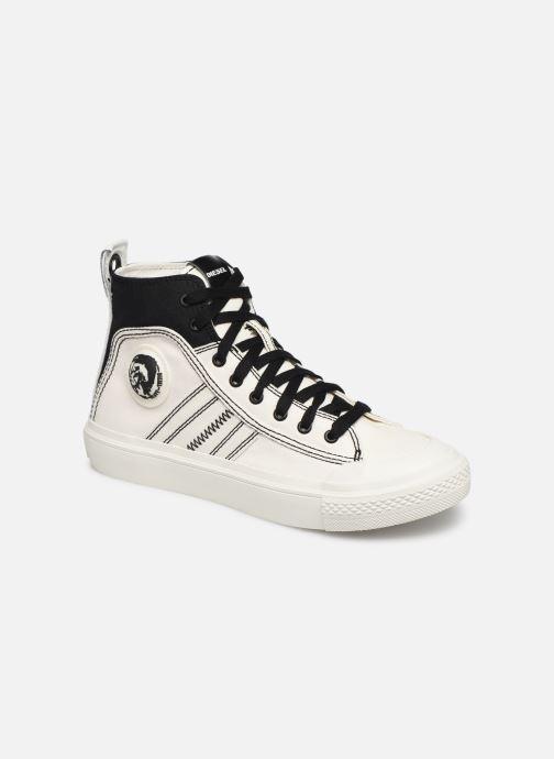 Baskets Diesel S-Astico Mid Lace W Blanc vue détail/paire