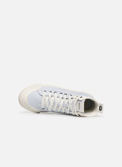 Sneaker Diesel S-Astico Mid Lace W blau ansicht von links