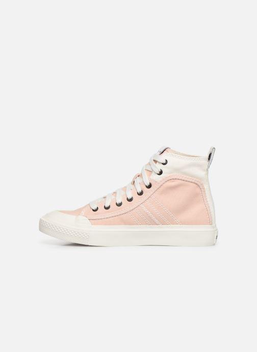 Sneaker Diesel S-Astico Mid Lace W rosa ansicht von vorne