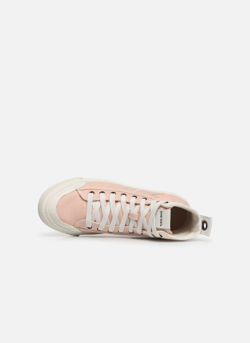 Sneakers Diesel S-Astico Mid Lace W Roze links