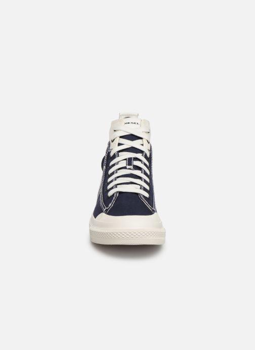 Baskets Diesel S-Astico Mid Lace Bleu vue portées chaussures