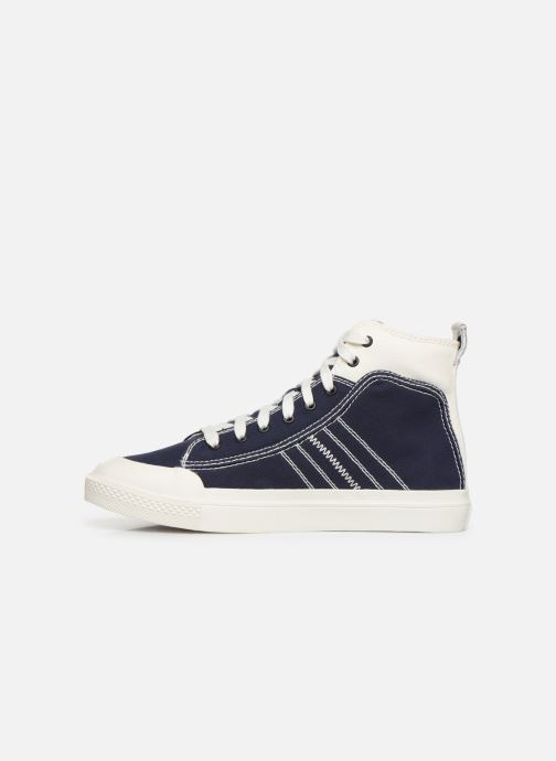 Sneakers Diesel S-Astico Mid Lace Azzurro immagine frontale