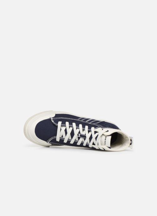 Sneakers Diesel S-Astico Mid Lace Azzurro immagine sinistra