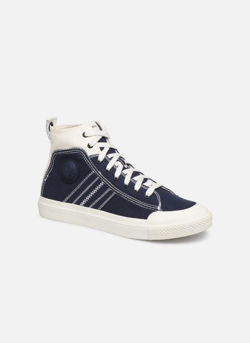 Sneakers Diesel S-Astico Mid Lace Blå detaljerad bild på paret
