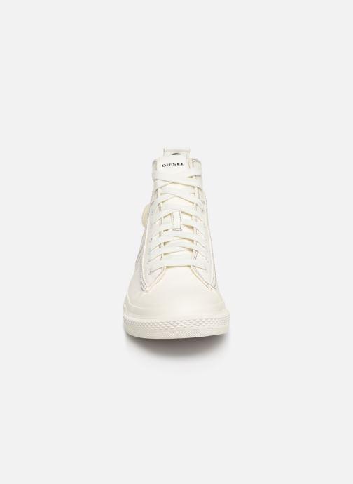 Baskets Diesel S-Astico Mid Lace Blanc vue portées chaussures