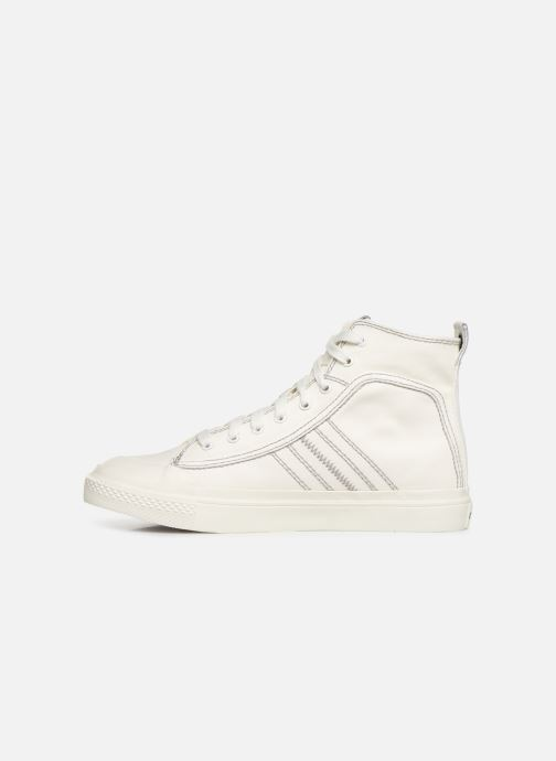 Trainers Diesel S-Astico Mid Lace White front view