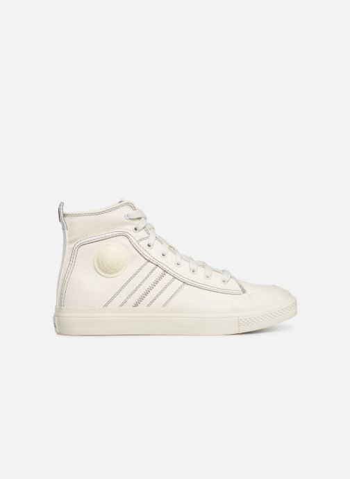 Trainers Diesel S-Astico Mid Lace White back view