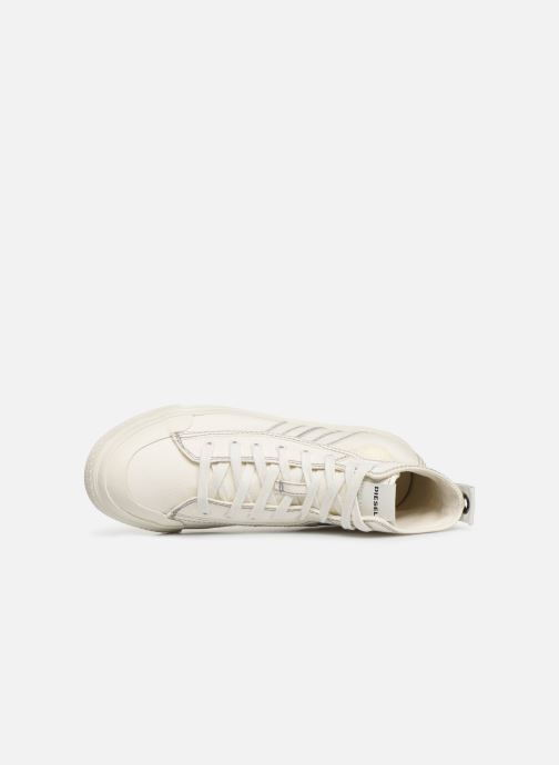 Trainers Diesel S-Astico Mid Lace White view from the left