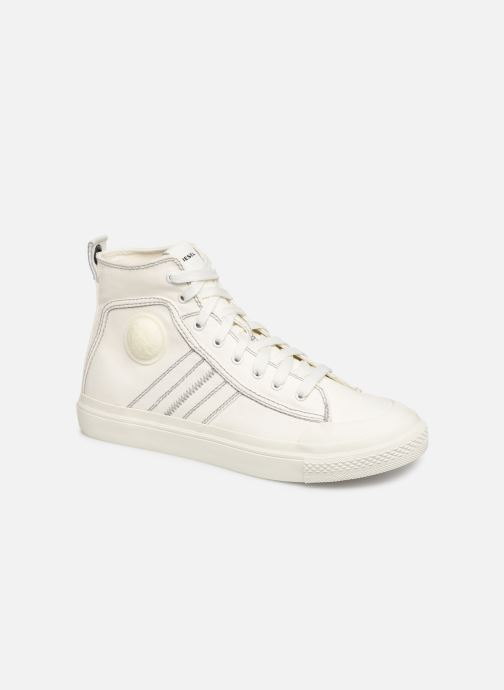 Trainers Diesel S-Astico Mid Lace White detailed view/ Pair view