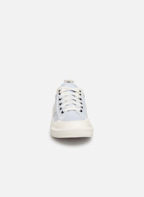 Baskets Diesel S-Astico Low Lace W Bleu vue portées chaussures