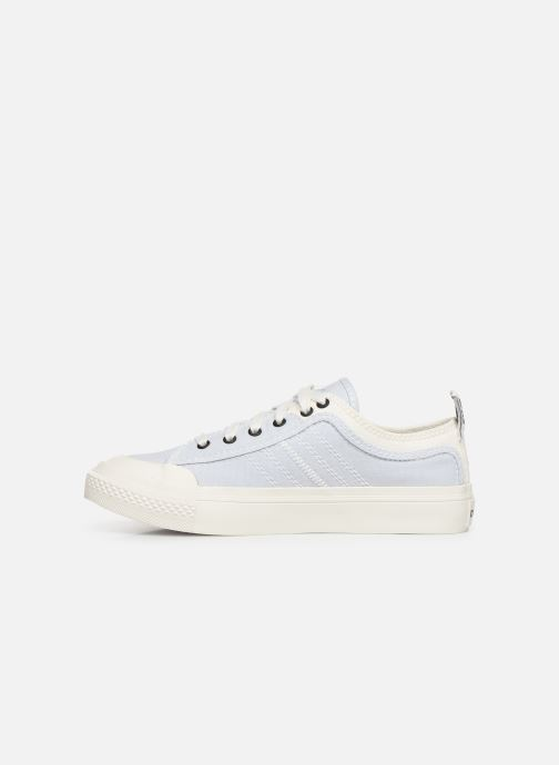 Trainers Diesel S-Astico Low Lace W Blue front view