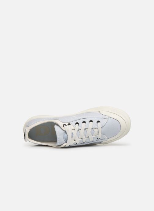 Sneakers Diesel S-Astico Low Lace W Azzurro immagine sinistra
