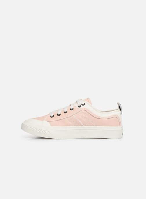 Trainers Diesel S-Astico Low Lace W Pink front view