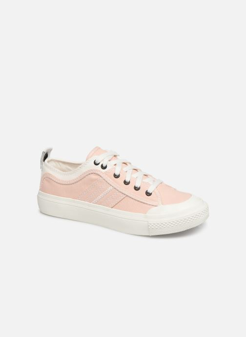 Trainers Diesel S-Astico Low Lace W Pink detailed view/ Pair view