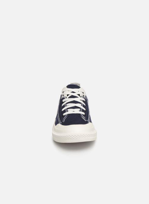 Baskets Diesel S-Astico Low Lace Bleu vue portées chaussures