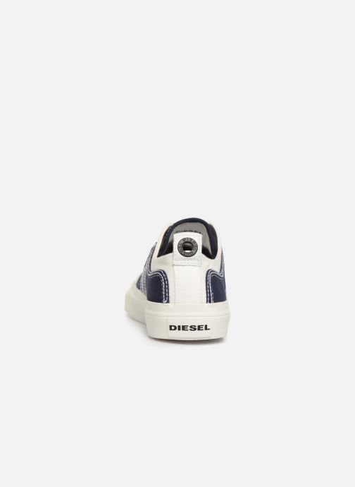 Baskets Diesel S-Astico Low Lace Bleu vue droite