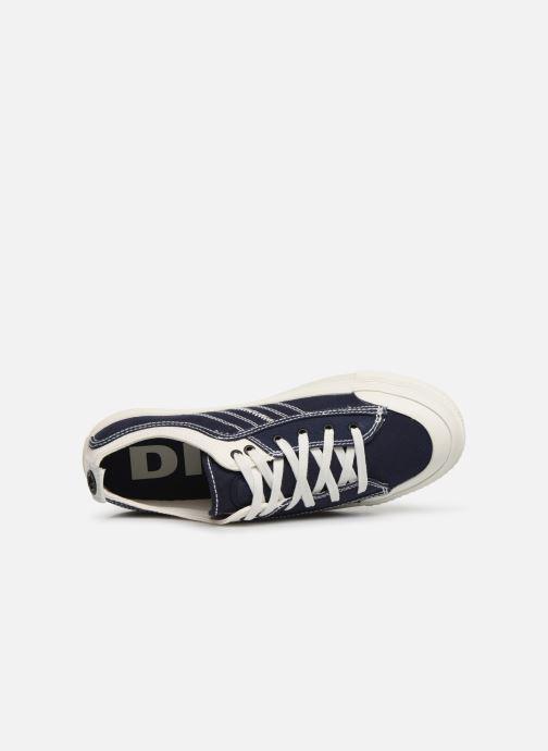 Baskets Diesel S-Astico Low Lace Bleu vue gauche