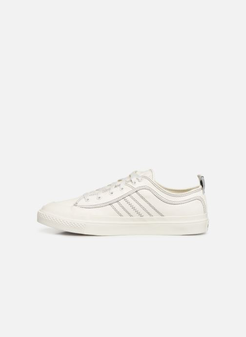 Sneakers Diesel S-Astico Low Lace Bianco immagine frontale