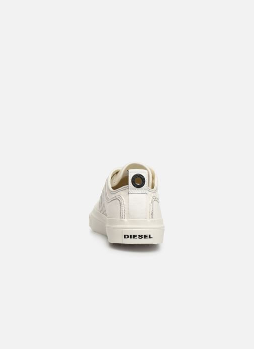 Sneakers Diesel S-Astico Low Lace Bianco immagine destra