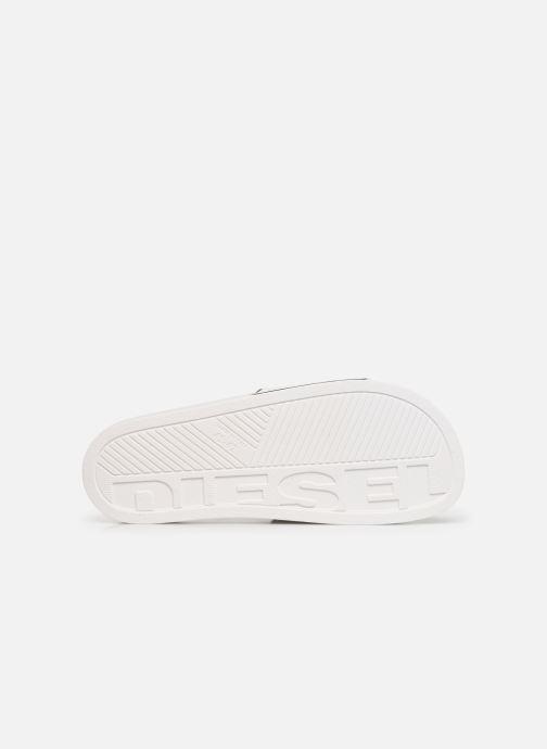 Sandales et nu-pieds Diesel Sa-Valla Blanc vue haut