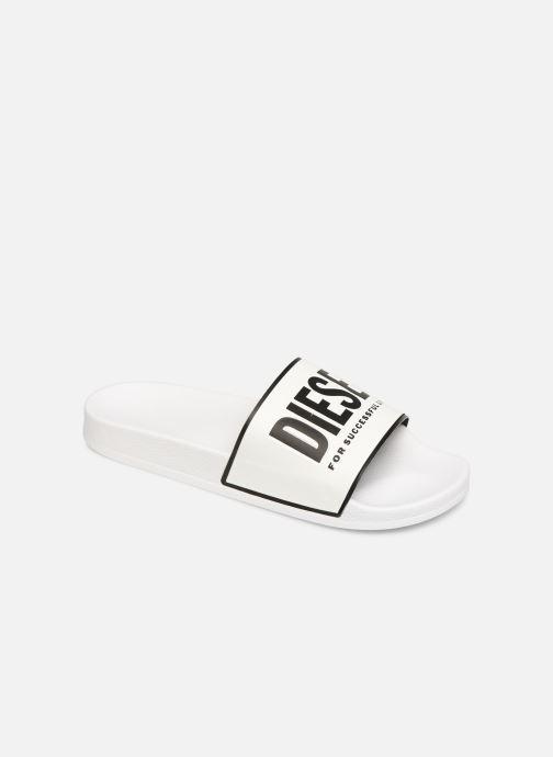 Sandales et nu-pieds Diesel Sa-Valla Blanc vue détail/paire