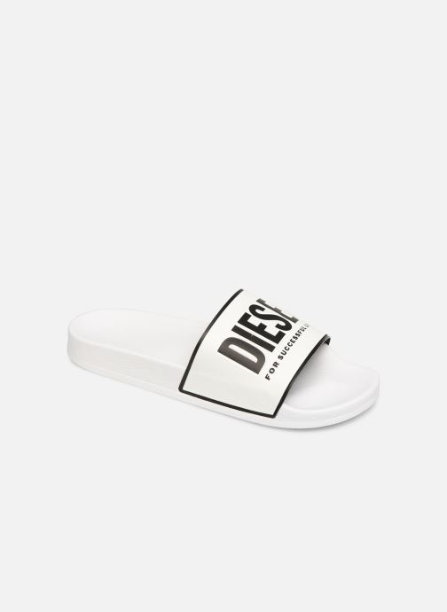 Sandals Diesel Sa-Valla White detailed view/ Pair view