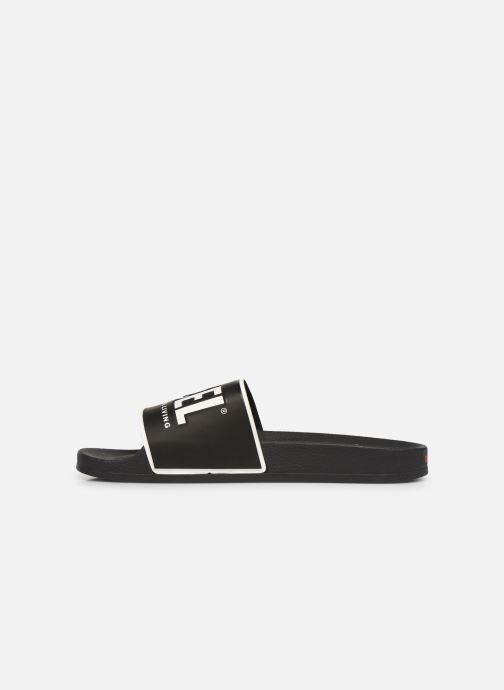 Sandales et nu-pieds Diesel Sa-Valla Noir vue face
