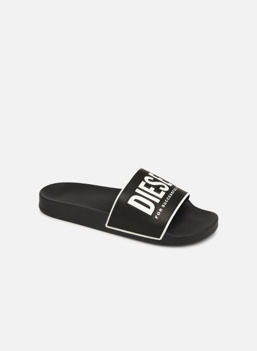 Sandales et nu-pieds Diesel Sa-Valla Noir vue détail/paire