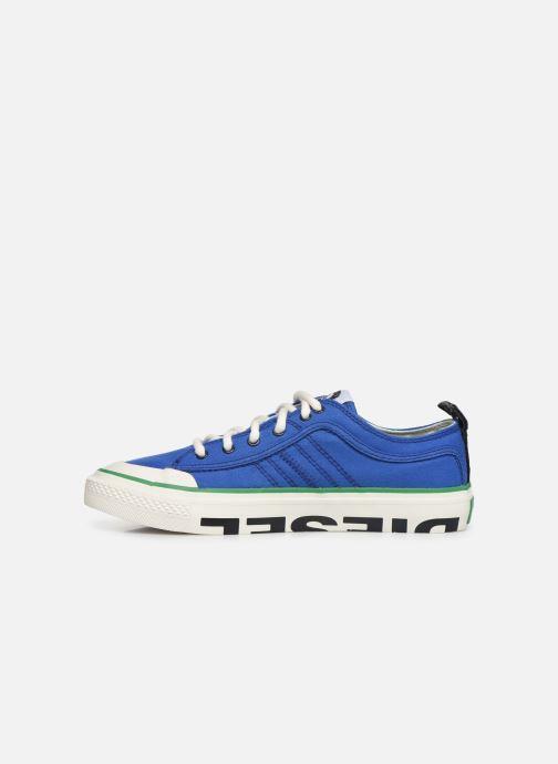 Sneakers Diesel S-Astico Lc Logo Azzurro immagine frontale