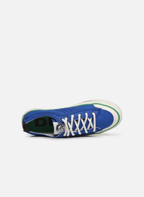 Sneakers Diesel S-Astico Lc Logo Azzurro immagine sinistra