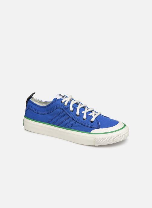 Baskets Diesel S-Astico Lc Logo Bleu vue détail/paire