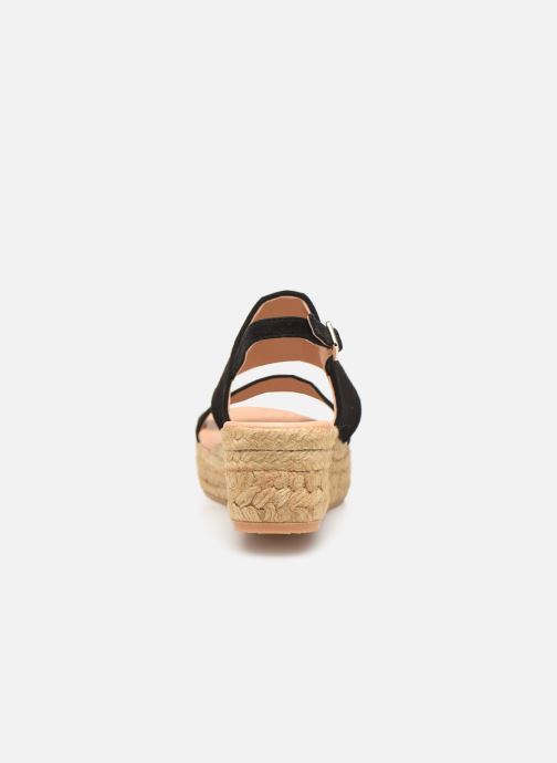 Espadrilles L.K. Bennett Cona Black view from the right