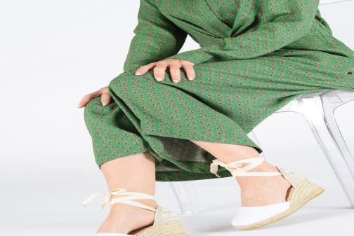 Scarpe di corda L.K. Bennett Maureene Bianco immagine dal basso